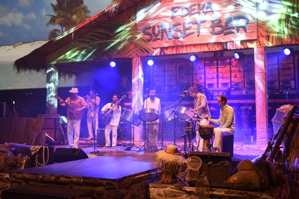 """Edeka Generalversammlung 2016, Fotos: """"Karibische Nacht mit Steel Pan Posse"""" im HCC Hannover"""